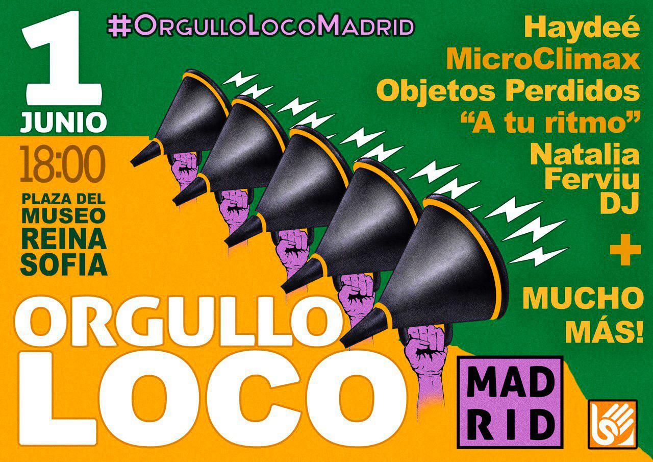 Día del Orgullo Loco en Madrid