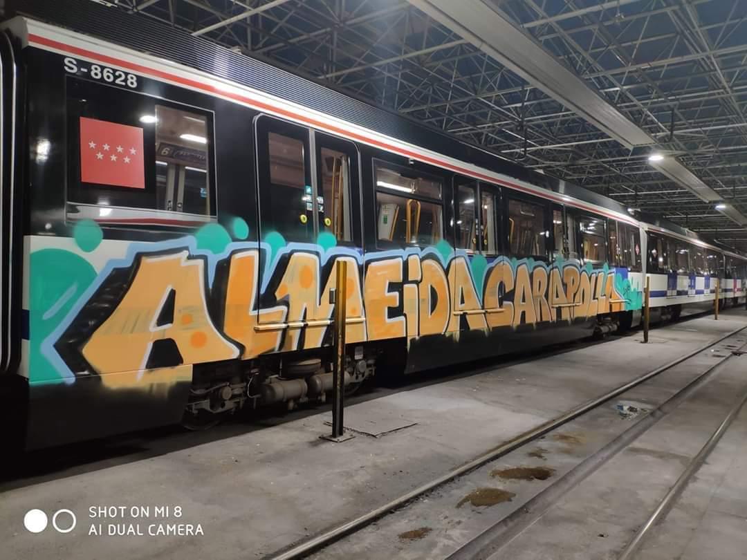Graffiteros contra el alcalde de Madrid